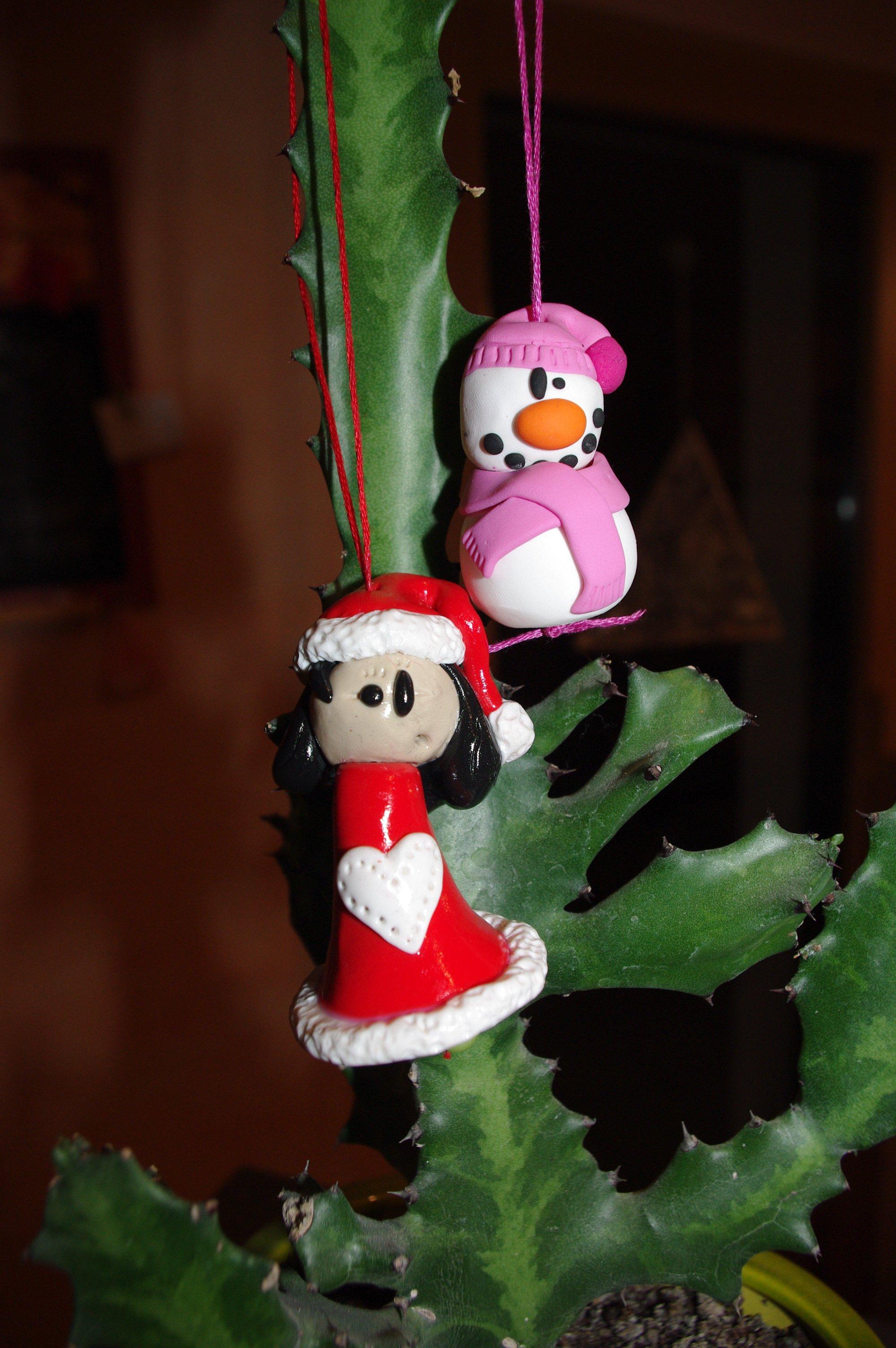 #C10A18 Déco Pour Sapin De Noël. « Créations En Pâte Fimo (polymère) 6181 decoration de table de noel en pate fimo 2000x3008 px @ aertt.com